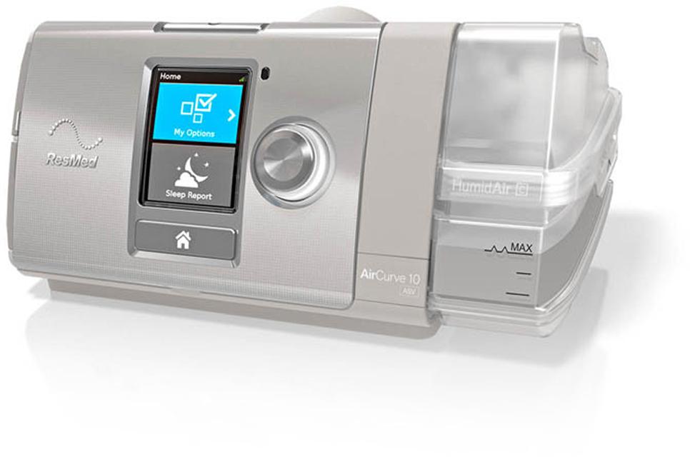 Resmed Aircurve 10 Asv Sleep Apnea Machines Asv